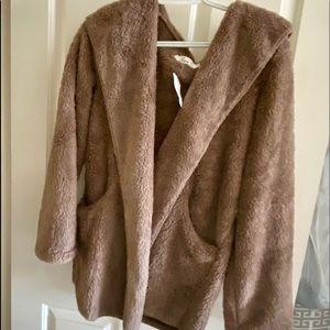 Jackets & Blazers - Womens Faux Shearling jacket